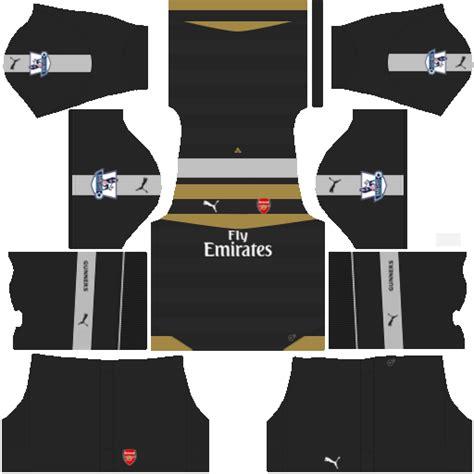 arsenal dls kit kits dream league soccer kit arsenal dls 16