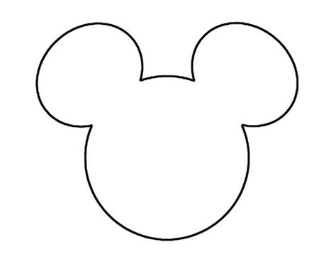 mickey mouse template lola s 6th birthday pinterest