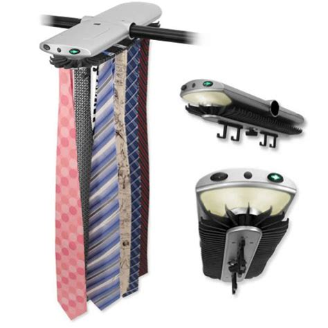 Electronic Tie Rack by S Tie Rack Closet Electronic Rotating Motorized Organizer Ties Auto Holder Ebay