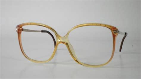 oversized 1970s zeiss eyeglasses for in multicolor