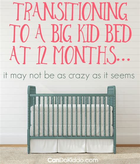 how early can i move my toddler to a big kid bed cando