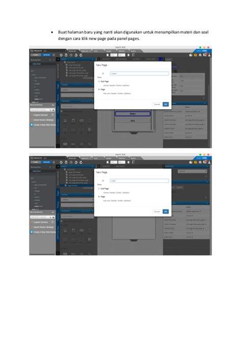 membuat aplikasi quiz di android membuat aplikasi quiz android dengan intel xdk