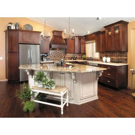 two tone cherry kitchen cabinets 22 best should i paint my island white images on for the home kitchen islands and