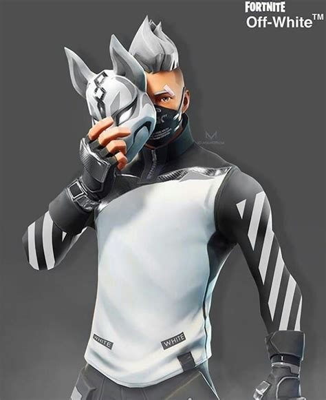 drift  white clothing epic games fortnite