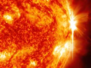 what color is the sun in space sun emits fourth x class flare in a week nasa