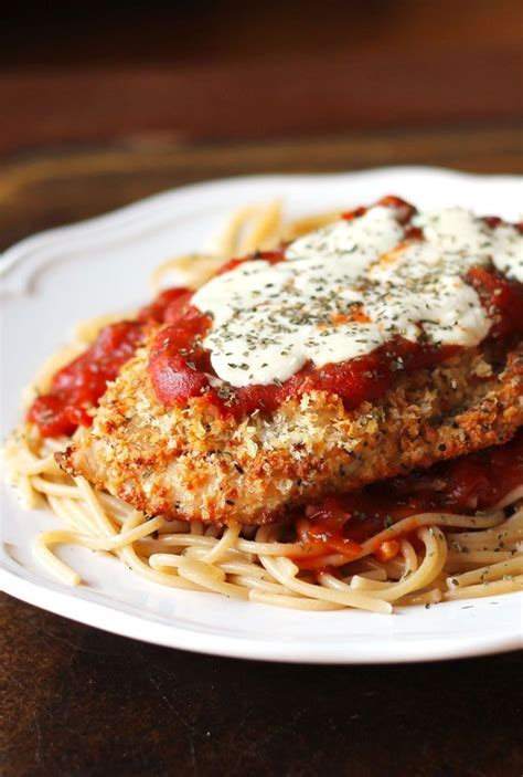cooking light chicken recipes cooking light chicken parmesan with spaghetti