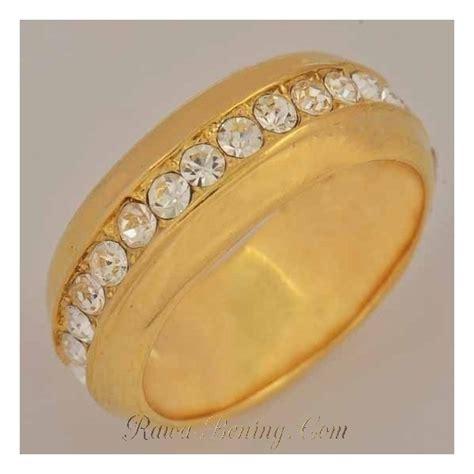 Cincin Emas Eye cincin murah berkualitas yellow gold filled 9k ring 10 usa