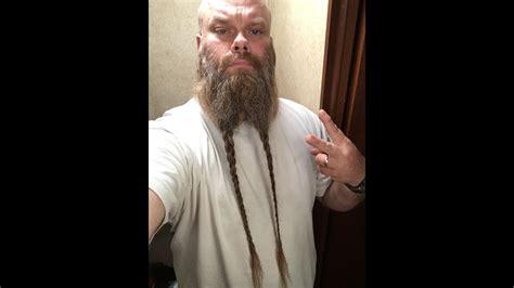 viking beard braid youtube