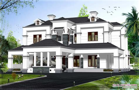 design house model victorian style kerala house model at 4336 sq ft