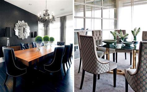 Dining Room Armchair Slipcovers by Comedores Elegantes Ideas Para Decorar El Comedor