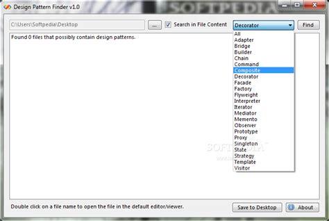 design pattern finder design pattern finder download