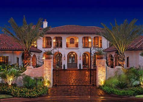 mediterranean home exquisite mediterranean style residence on lake