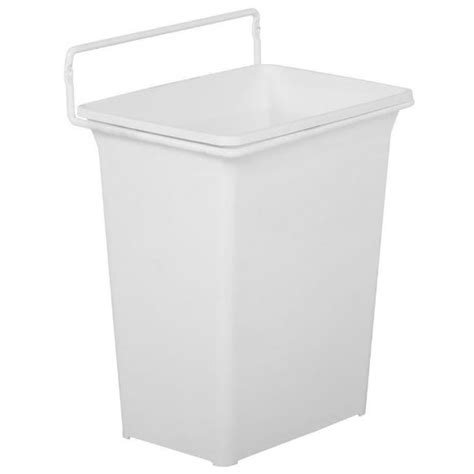 cabinet door hanging trash can door mounted trash can in cabinet trash cans