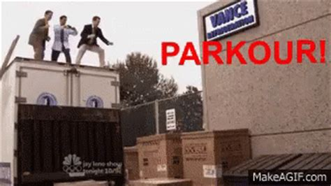 parkour office gif parkour office andybernard discover