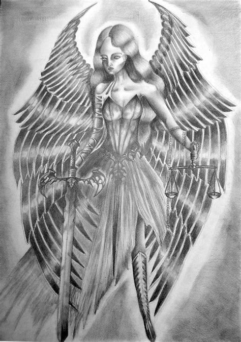angel justice tattoo angel tattoos and designs page 60