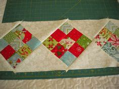 construct 2 runner tutorial scrappy 9 patch table runner placemats for fall napkins to match dishes