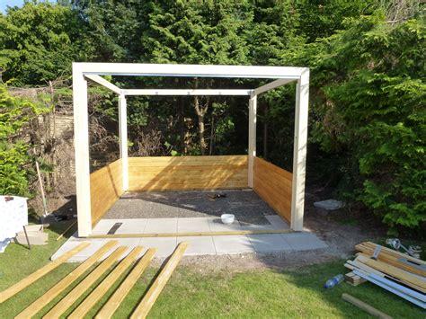 Gartenhaus Holz Bauen by Gartenhaus St 228 Nderbauweise Selber Bauen My