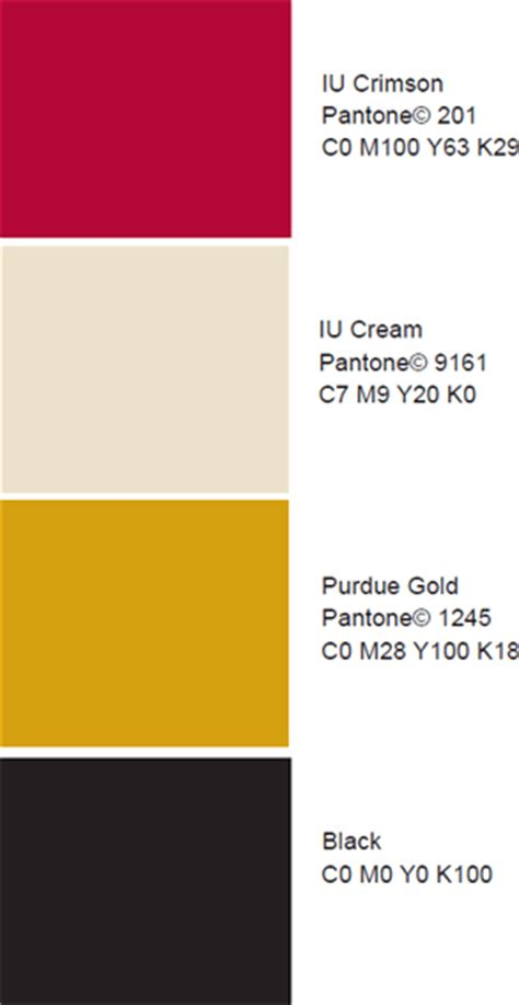 indiana colors licensing trademarks indiana