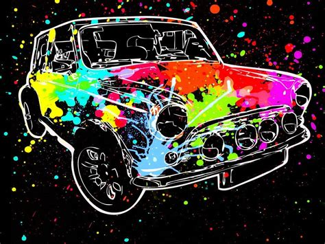 colorful cars wallpaper colorful illustration car vehicle paint