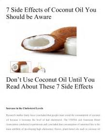 7 side effects of coconut you should be aware