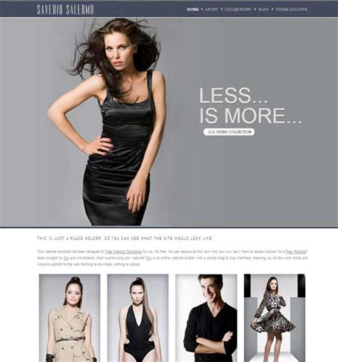 18 Fashion Model Agency Website Templates Free Free Templates Download Modeling Website Templates Free