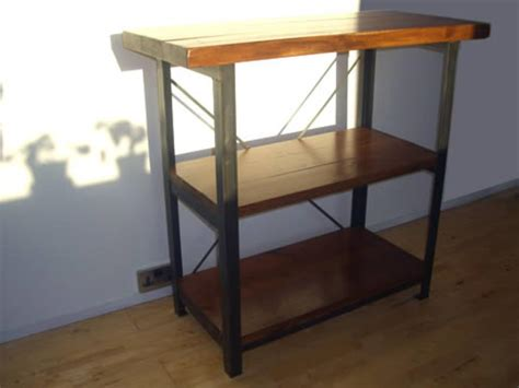 kitchen table with shelves vintage industrial kitchen table