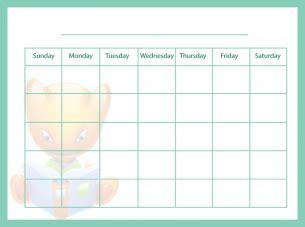 decorative calendar template printable decorative blank calendar