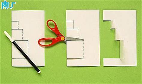 easy pop up card templates 简单漂亮的圣诞节贺卡图片及一款圣诞礼物立体卡片制作方法 肉丁网