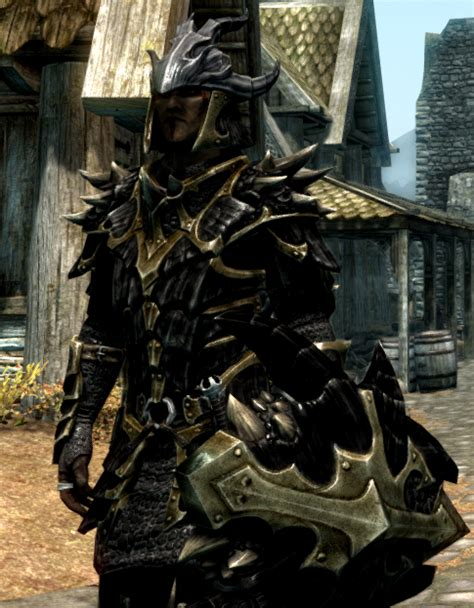 skyrim dragon armor retexture black dragonscale armor retexture at skyrim nexus mods