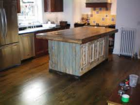 Wood Island Kitchen by Kitchen Reclaimed Wood Kitchen Island Stainless Steel