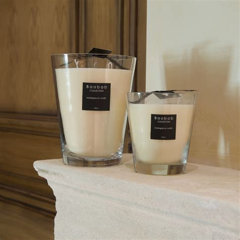 Vanilla Candles by Madagascar Vanilla Scented Candle By Baobab