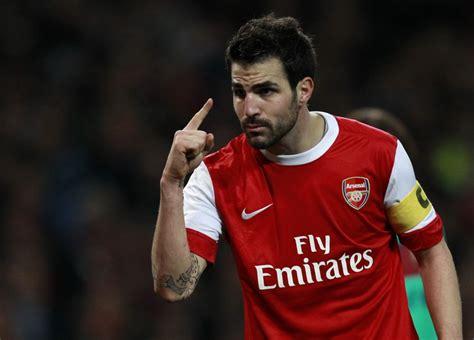 arsenal rumours arsenal transfer rumours fabregas coy on emirates future