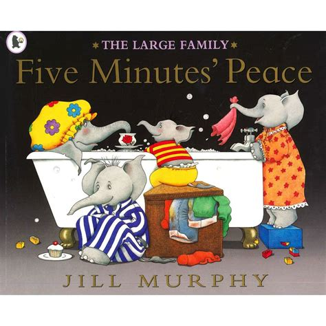 five minutes peace by jill murphy 5 new large childrens elephants p b book 9781844285396 ebay