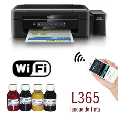 Tinta Epson L365 Impressora Epson L365 Wifi Bulk Ink 400ml Tinta Sublim 225 Tica