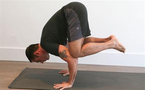 yoga arm balance tutorial jock yoga tutorial arm balance pose crane pose amongmen