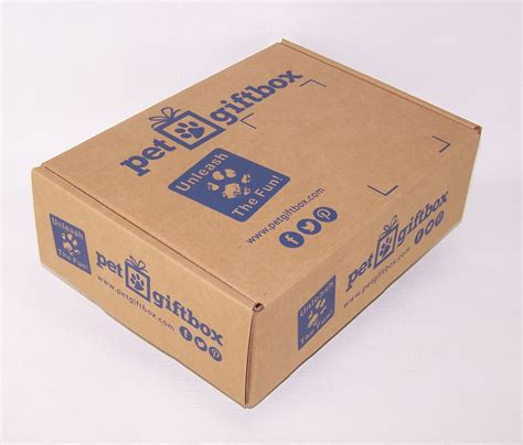pet gift box new subscription program utilizes salazar packaging and globe guard 174 custom printed