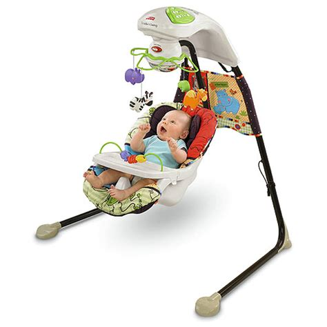 luv u zoo fisher price swing object moved