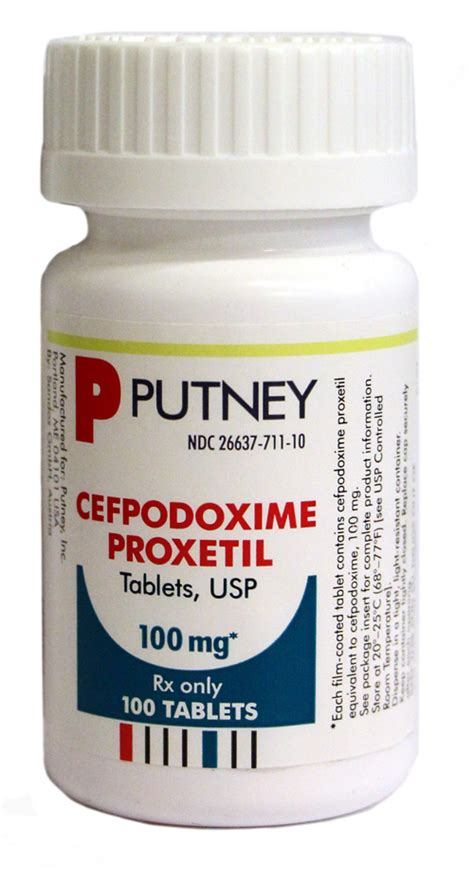 cefpodoxime dogs cefpodoxime proxetil 100 mg per tablet