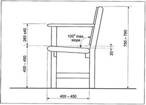 typical seating height park bench dimensions treenovation