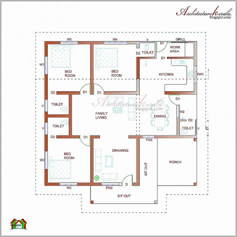 A House Plan by House Plan Fresh Section Of A House Plan Plan Elevation