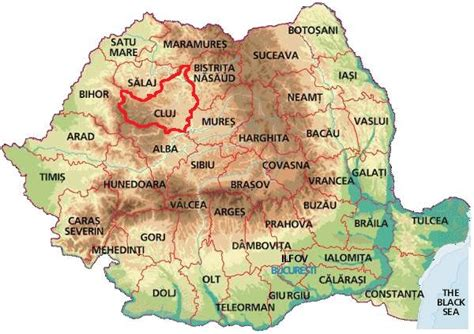 cluj napoca romania map cluj napoca map