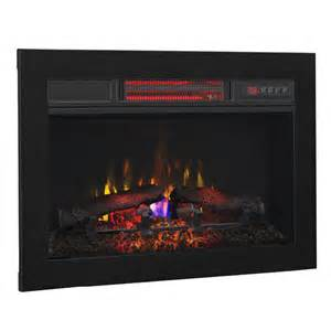 classicflame 26 in infrared fireplace insert flush mount