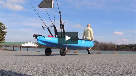 boat with landing gear kayak landing gear by boonedox on vimeo