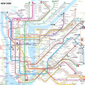 New York Subway Map by Scared Of The New York Subway Me Too Backpackerlee