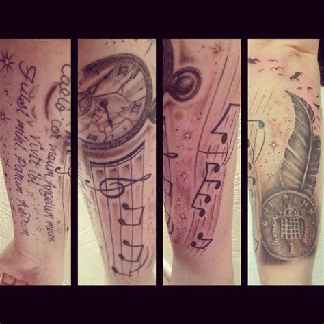 memorial quarter sleeve tattoo half sleeve memorial tattoo tattoos pinterest