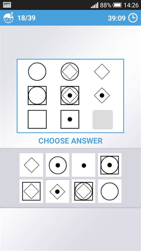 iq test mensa iq test android apps on play