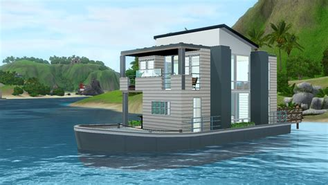 building a house boat sims 3 building a small house boat youtube