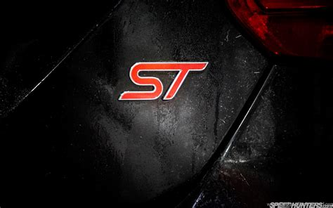 ford focus st badge hd wallpapercars hd wallpaperford hd desktop background