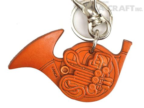 Handcrafted Leather Goods - horn handmade leather goods keychain bag charm