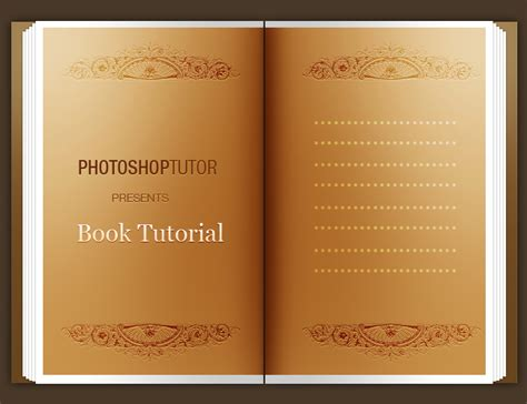 typography tutorial book open book tutorial photoshop graphic design tutorial 21